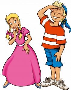 Pinky og Sunniva