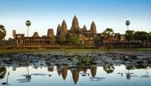 Angkor Wat tempel i Kambodsja